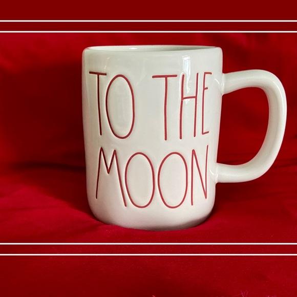 """RAE DUNN """"to moon & back"""" mug (NWOT)"""